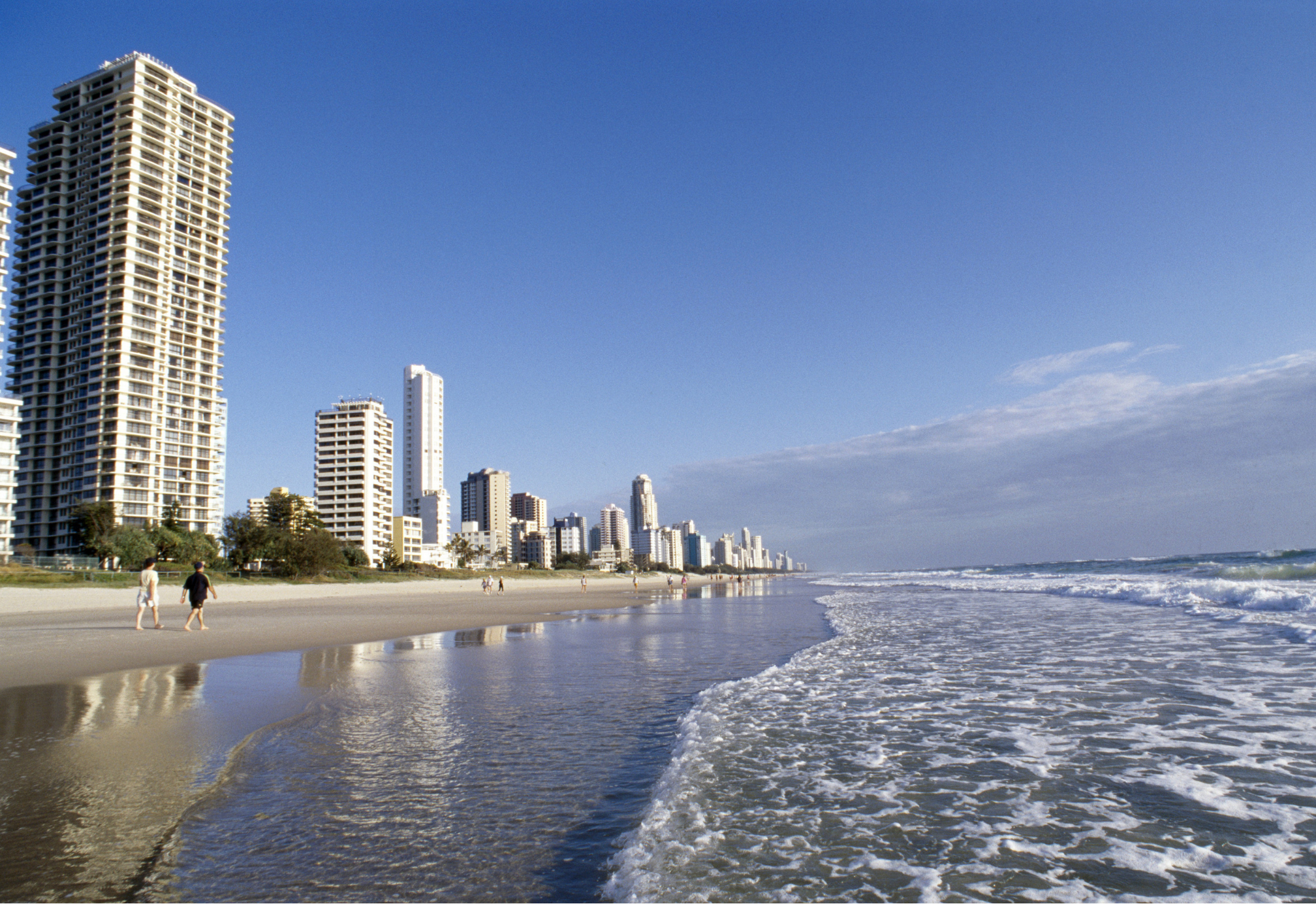 Queensland property next to the beach